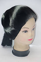 Натуральная женская шапка из меха рекса