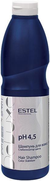 Шампунь для окрашенных волос Стабилизатор цвета De Luxe рН 4,5, 1000 мл