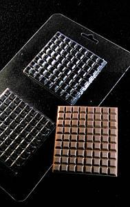 Форма пластиковая C2-051 шоколадный лист (Размер формы 135*225мм)