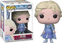"""Фигурка Funko Pop Дисней """"Холодное сердце"""": Эльза (40884) #581 Frozen Elsa"""