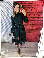 Платье с сеточкой в расцветках 29744, фото 1