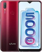 "Смартфон ViVo Y11 3/32GB Dual Sim Agate Red; 6.35"" (1544х720) IPS / Qualcomm Snapdragon 439 / ОЗУ 3 ГБ / 32 ГБ встроенной + microSD до 256 ГБ / камера"