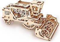 Механический 3D пазл UGEARS Комбайн (70010)