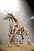 Механический 3D пазл UGEARS Конь-Механоид (70058)
