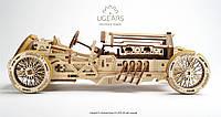 Механический 3D пазл UGEARS Спорткар U-9 Гран-при (70044)