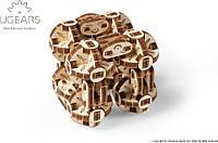 Механический 3D пазл UGEARS Сферокуб (70049)