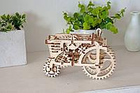 Механический 3D пазл UGEARS Трактор (70003)