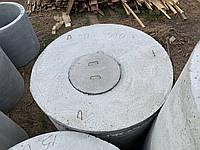 Крышка железобетонная диаметр 1,2 м, фото 1