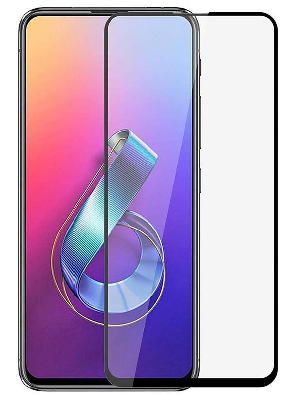 Защитное стекло PowerPlant для Asus Zenfone 6 ZS630KL Black (GL606955)