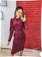 Платье вельвет 29746, фото 1