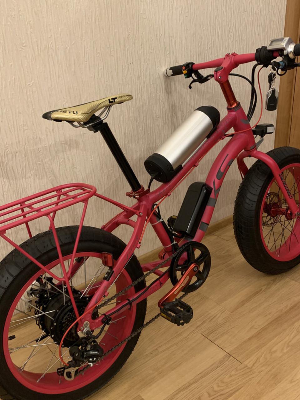 Электровелосипед электрофэтбайк Lks e-bike fatbike electro