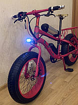 Электровелосипед электрофэтбайк Lks e-bike fatbike electro, фото 3