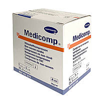 Medicomp 5 х 5 см - стерильные салфетки из нетканого материала 2х25шт