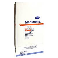 Medicomp 10 х 10 см - стерильные салфетки из нетканого материала 2х100шт