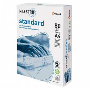 Бумага офисная А4 Maestro standart, 80 г/м2, 500 л.(маестро стандарт), фото 2