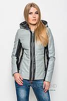 Куртка из кожзама  Lusskiri -17494
