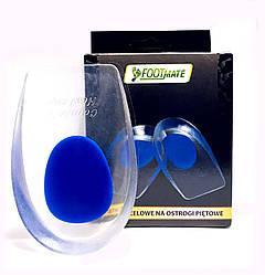 Гелевые подпяточники мужские FootMate G008 Blue 41/46