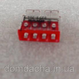 Монтажная 4-проводная клемма для 1-жильного проводника STEKKER LD2273-205 32391