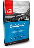 Сухой корм Orijen Original Dog 38/18 для взрослых собак всех пород с курицей и индейкой 0.34 кг