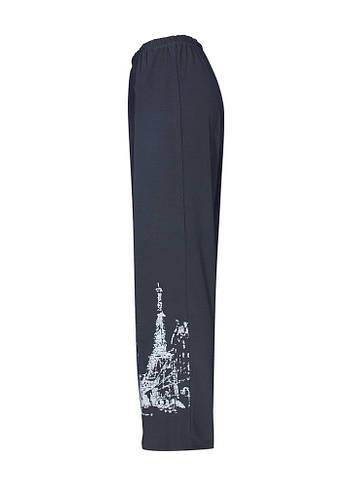 Трикотажные прямые брюки Париж