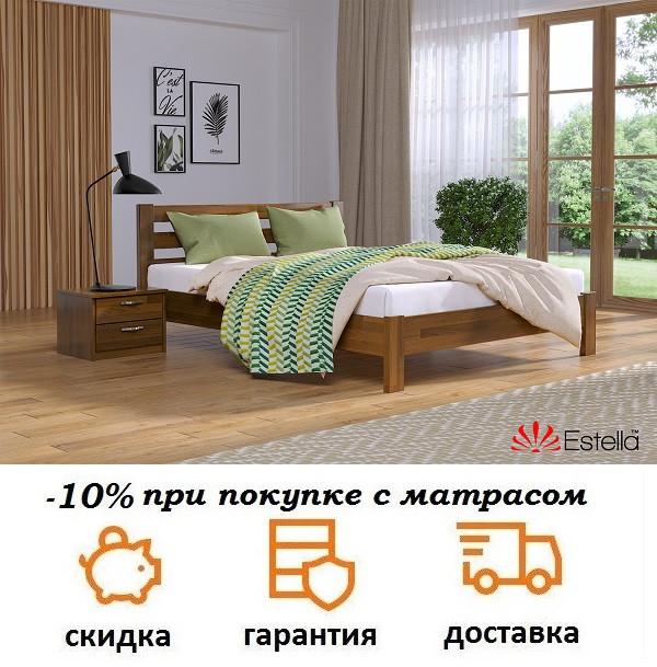 Кровать Рената Люкс с высоким изголовьем