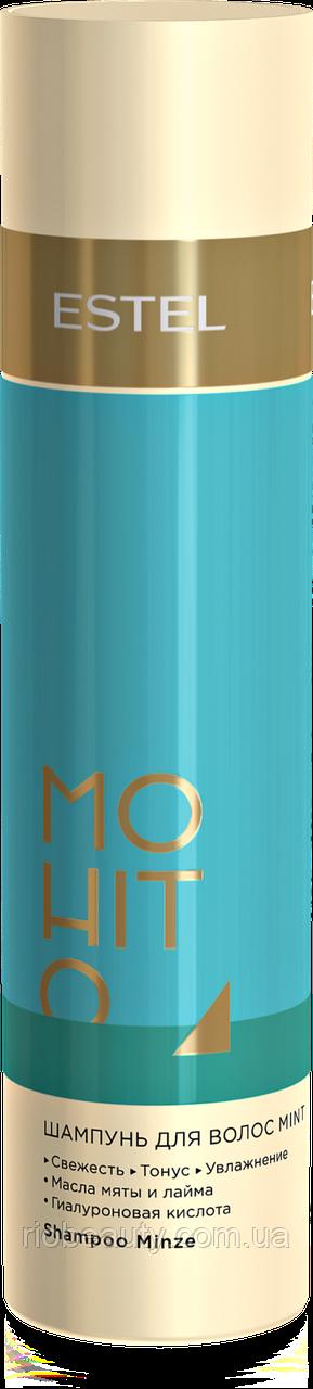 Шампунь для волос Мята ESTEL MOHITO, 250 мл