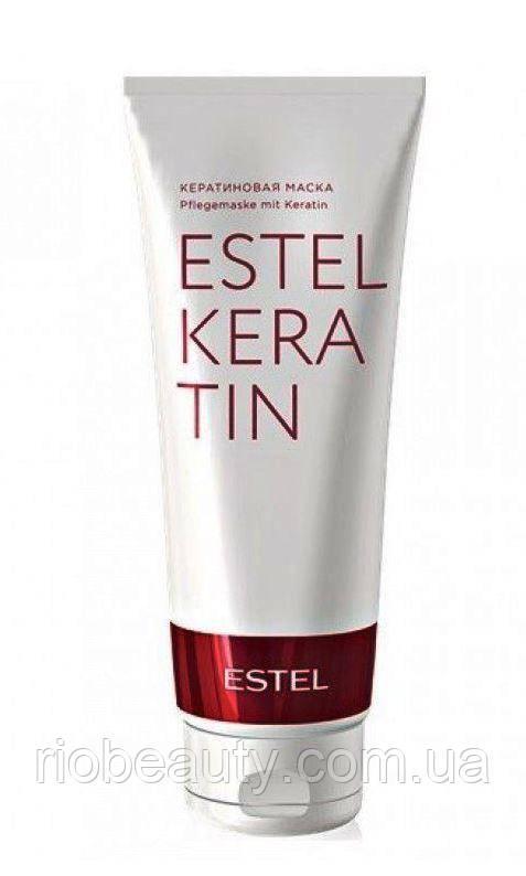 ThermoKeratin Shampoo Кератиновая маска для волос (домашний уход) Estel Professional 250 мл