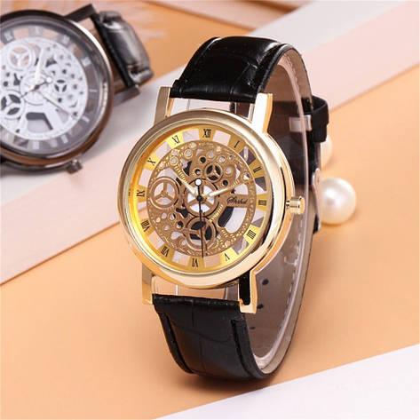 """Мужские наручные часы """"Shshd"""" (черный ремешок), фото 2"""