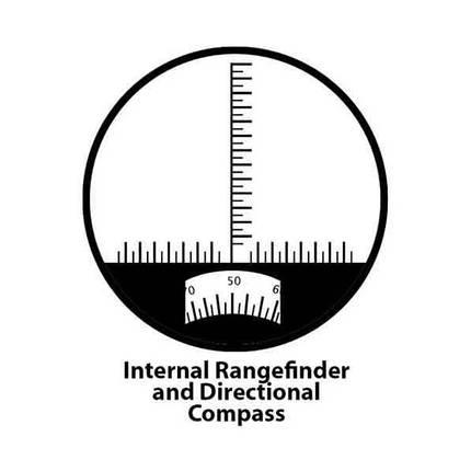 Бинокль Barska Deep Sea 7х50 WP Compass, фото 2