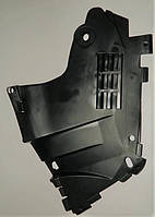 Защита переднего бампера левая Логан фаза 2 с 2008 г grog Корея