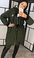 Куртка парка женская батал  41807