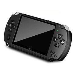 """Портативная игровая приставка консоль Psp Х6 экран 4,3"""" с камерой Черный"""