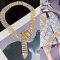 Колье ожерелье , модное колье бижутерия