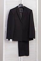 Качественный фабричный мужской костюм ГАБАРДИНОВЫЙ
