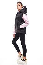 Практичная женская жилетка чёрного цвета, размер 42-50, фото 2