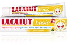 """Зубная паста Lacalut Basic """"Цитрусовый"""" (75мл.)"""