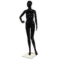 Манекен женский реалистичный черный
