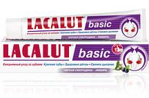 """Зубная паста Lacalut Basic """"Черная смородина - Имбирь"""" (75мл.)"""