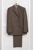 Качественный фабричный мужской костюм 54