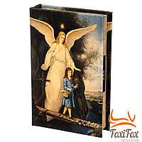 Книга сейф с кодовым замком Ангел Хранитель