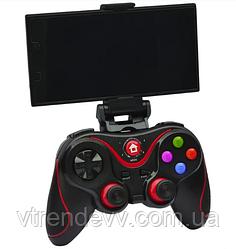 Беспроводной джойстик геймпад Bluetooth V8 PC/Android/iOS Black