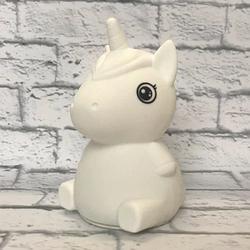 Силиконовый сенсорный ночник LED Единорог Baby