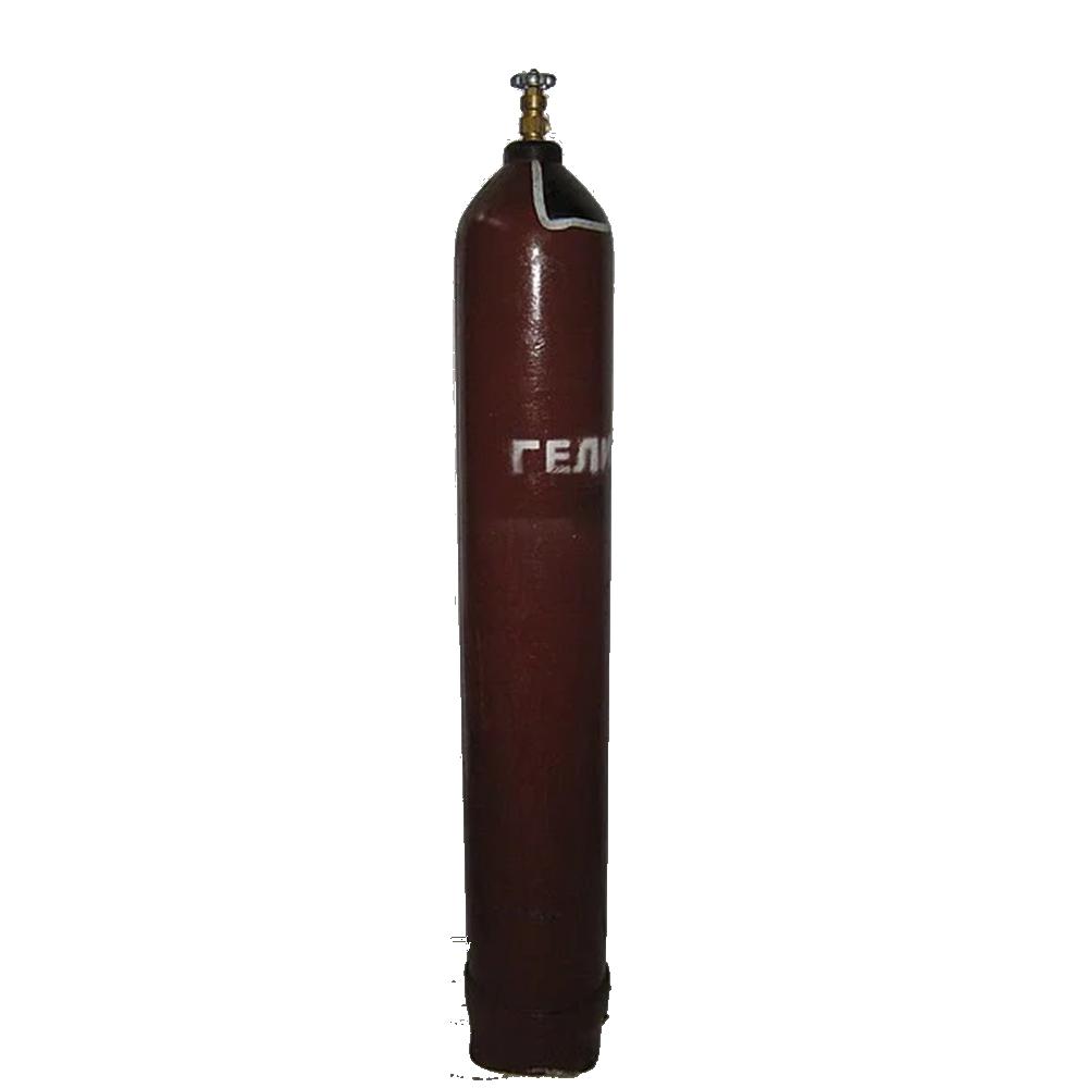 Баллон для гелия 40л. ГОСТ 949-73 (с б/у вентилем)