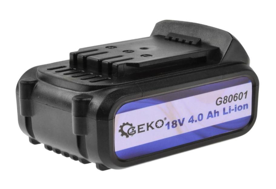 Аккумулятор литий-ионный 18 В, 4.0 Ач GEKO G80601