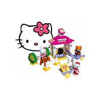 Конструктор Домик с Фигурками в коробке 41 деталь Hello Kitty Big 57012