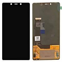 Дисплей  Xiaomi Mi8 SE + тачскрин, черный,  OLED, копия хорошего качества