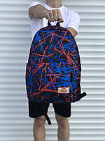 Рюкзак для школы или спорта, синий
