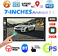 Магнитола 8702 Android c GPS WI-FI с камерой в рамке номера автомагнитола андроид два дин, фото 6