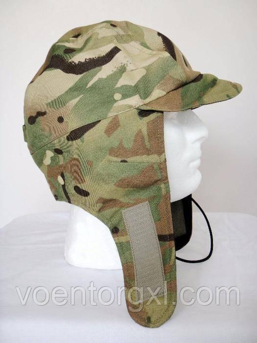 Зимняя шапка (Gore-Tex) в расцветке MTP. Великобритания, оригинал.