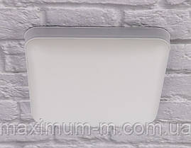 Светильник потолочный Led (3х14х14 см.) Белый YR-18002/18W-sq